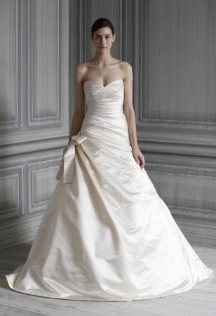 Monique lhuillier wedding dress style glory onewed for Monique lhuillier wedding dress designers