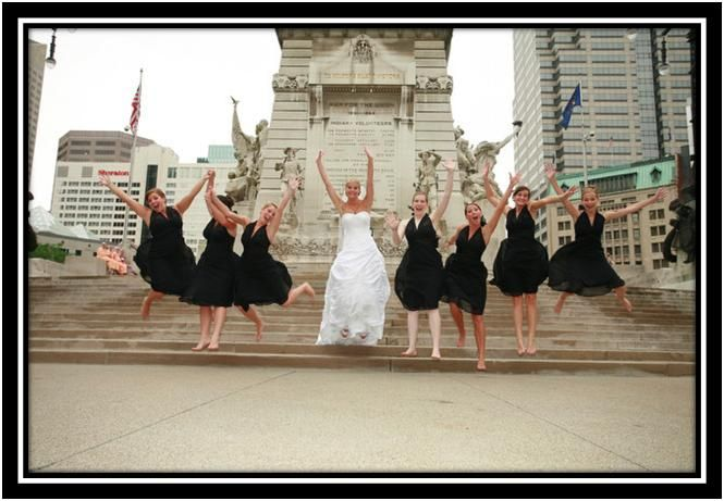 Bubbly Bride: I Thought Black Was For Funerals?