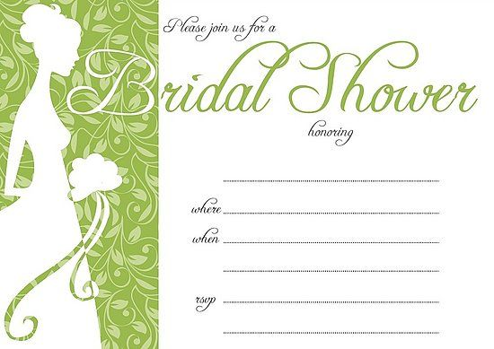 Check out the free, downloadable bridal shower invites on www.yumsugar.com
