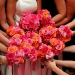200 Roses and Small Rose Petals Wedding Combo Package