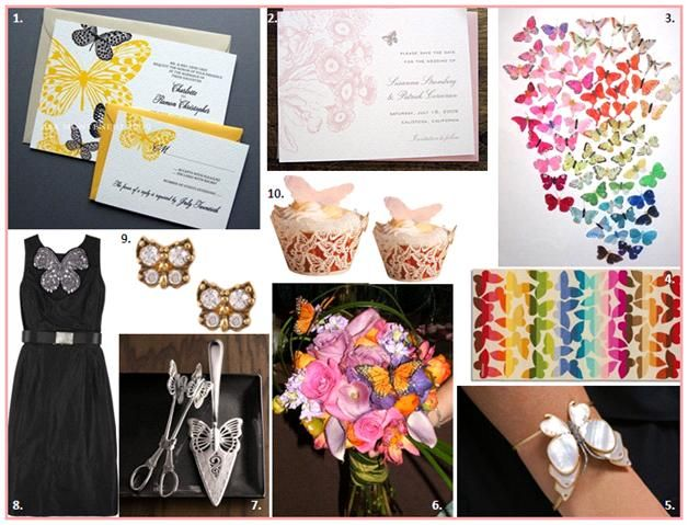 Butterfly Inspiration Boards