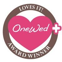 OneWed's Loves It! award badge