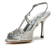 Ambrose bridal shoes by Mary Norton