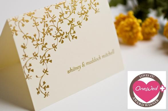 Wedding Paper Divas Thermography Collection- OneWed Loves It!