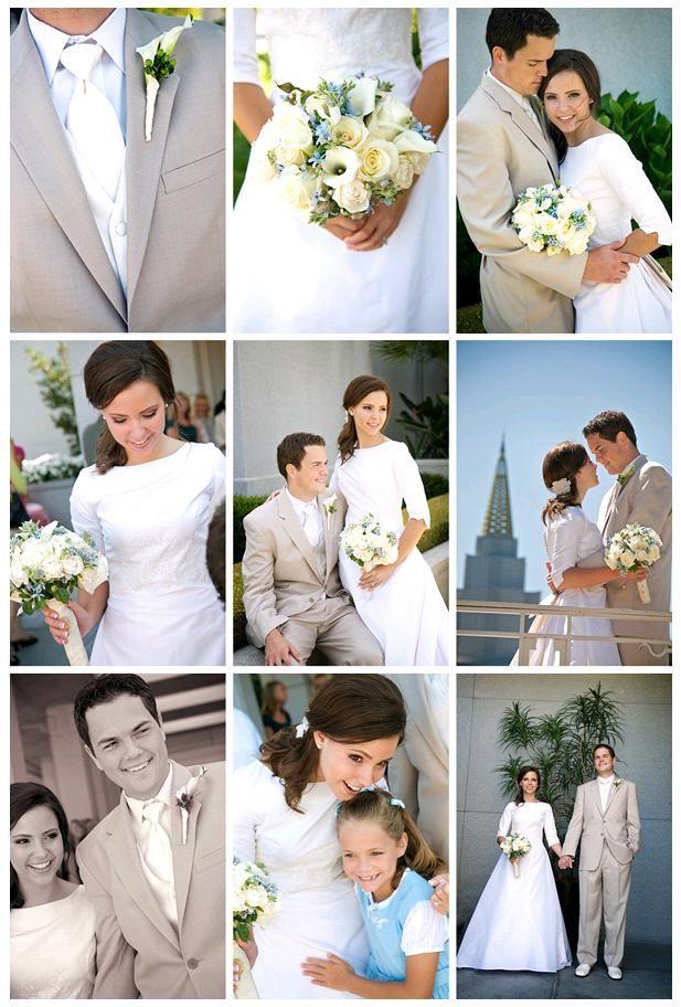 Classic colors at a classic wedding
