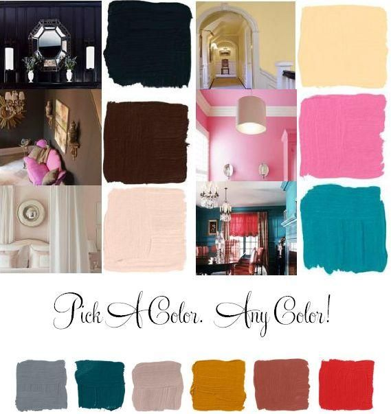 Let Y Paint Colors Like Bubblegum Pink Teal Peach And Chocolate Brown