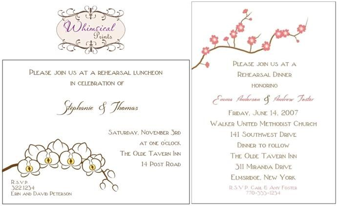 White, chocolate brown, yellow and pink wedding stationery from Whimsical Prints