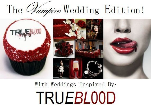 True Blood on HBO has everyone talking- what do you think of a dark, gothic Vampire-Inspired wedding