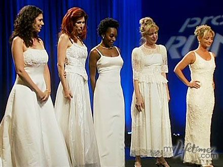 If you have to cut up a wedding dress, these five ugly wedding dresses featured on Project Runway ar
