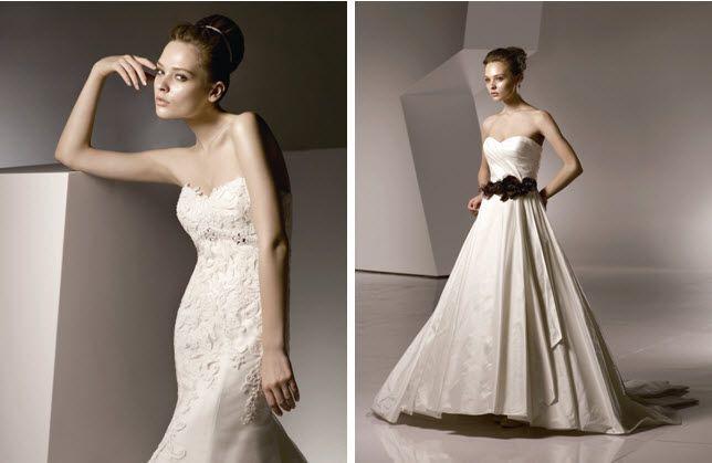 Anjolique Wedding Dresses Style 2109 & 2119