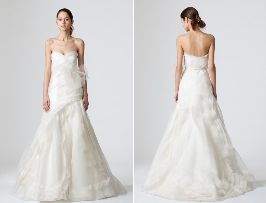 Nailya\'s blog: MONIQUE LHUILLIER VALERIA GOWN FALL 2009 wedding ...