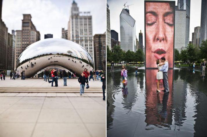 Amazing photo opportunities in Chicago's Millenium Park