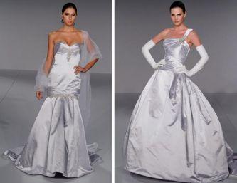 """Под понятие  """"классическое """" попадает любое белое свадебное платье..."""