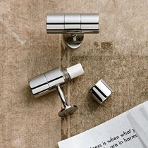 These silver cufflinks have a hidden compartment to send a message to your guy.