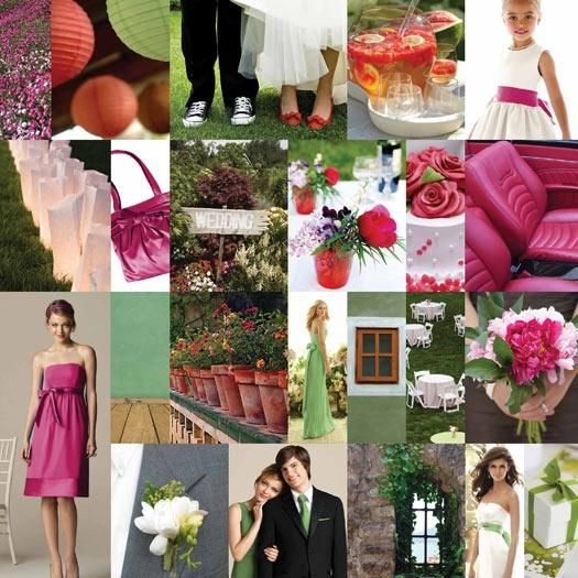 This inspiration board is perfect for helping you find inspiration for your wedding