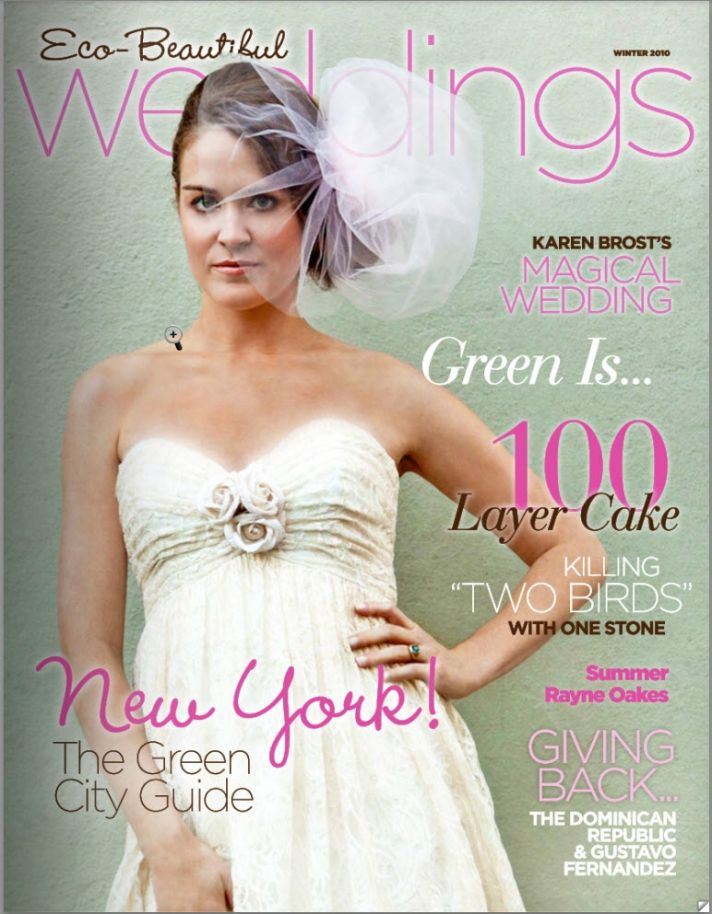 Eco Beautiful Weddings cover