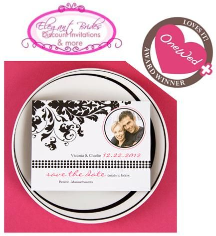 Elegant Brides Discount Wedding Invitations is a fab place to get discounted designer stationery