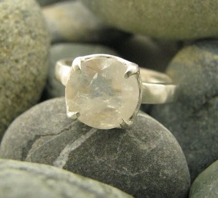 Moonstone ring, only $200, from Turtle Love Committee