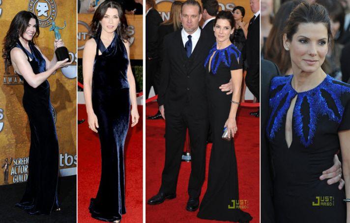 Julianna Margulies and Sandra Bullock looked stunning at the 2010 SAG awards!