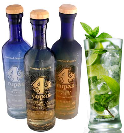 Delicious organic tequila- go green and save money with mojito signature cocktails