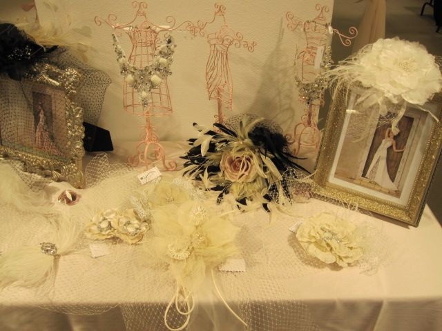 Beautiful birdcage veils, statement necklaces, bridal headpieces and more from D'Amour