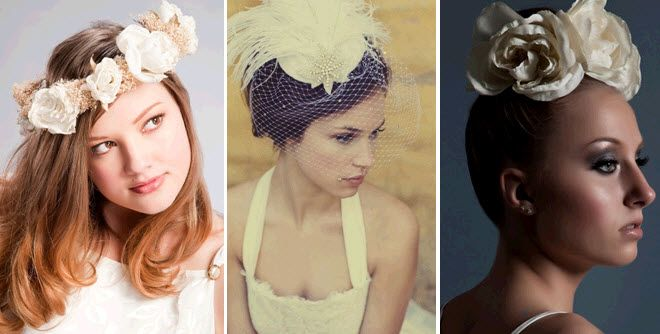 Ballet-Inspired Head Chic for brides: floral wreath or single floral accent in bun