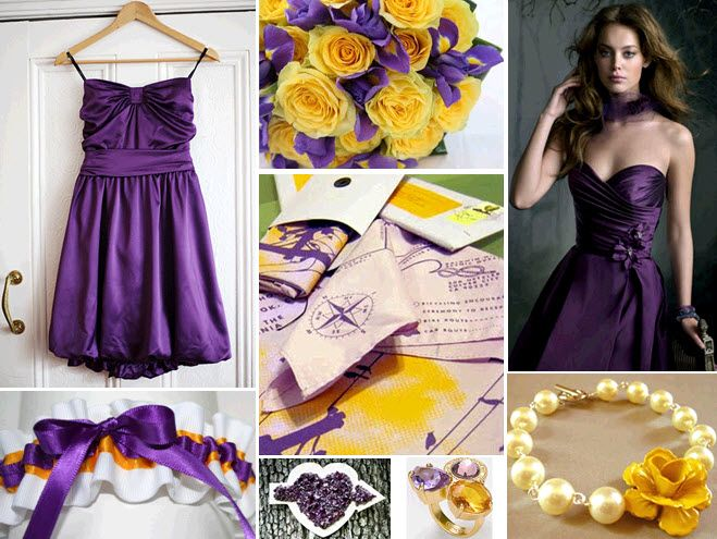A Lakersinspired wedding can still be chic and girly