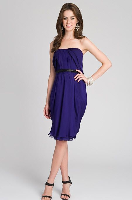 Bridesmaid Dress Length For A Fall Wedding bridesmaids dress for a