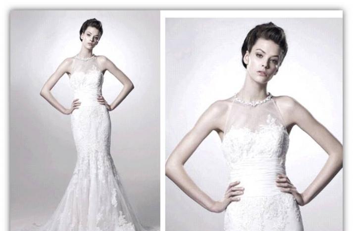 Francesca-spring-2011-romantic-wedding-dress-delicate-lace-mermaid-illusion-jeweled-high-neckline-2