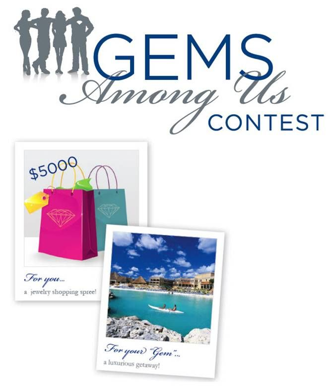 Last chance to nominate your gem for a chance at a $5000 jewelry shopping spree is Oct. 25th!