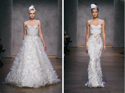 Monique Lhuillier Fall 2011 Wedding Dresses Tumberose Lavender