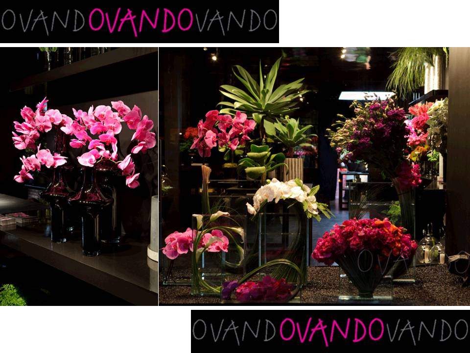 Exotic Pink Wedding Flowers Floral Arrangements New York Floral