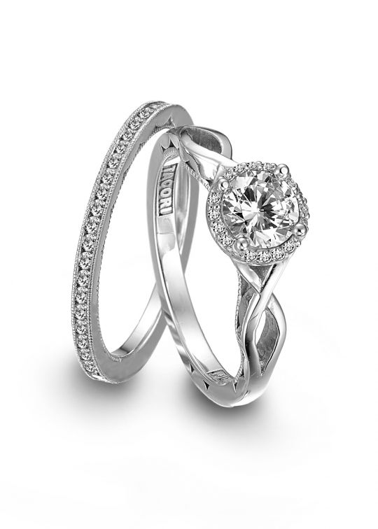 reasonable engagement rings on affordable platinum engagement ring by tacori onewed - Discounted Wedding Rings