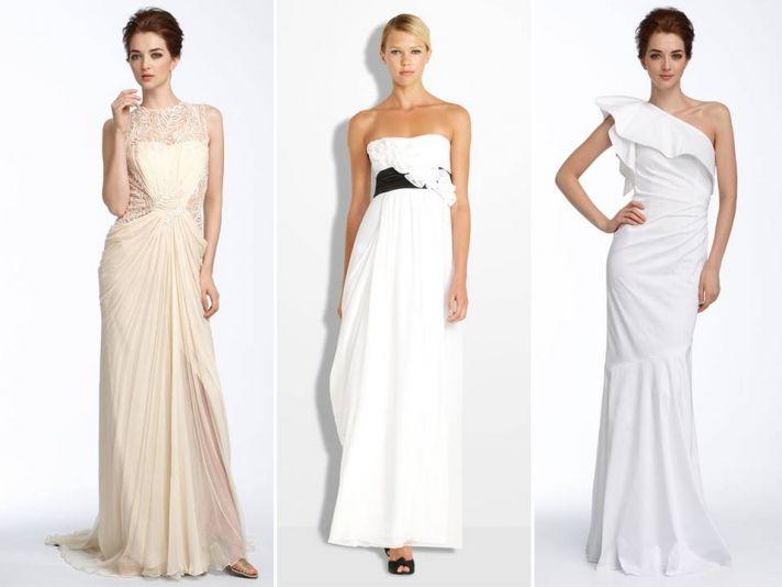 Gorgeous beige, white, and ivory romantic 2011 wedding dresses