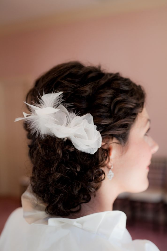 Wedding Hairdos For Naturally Curly Hair : Wedding hairstyles how to naturally curly updo for thick
