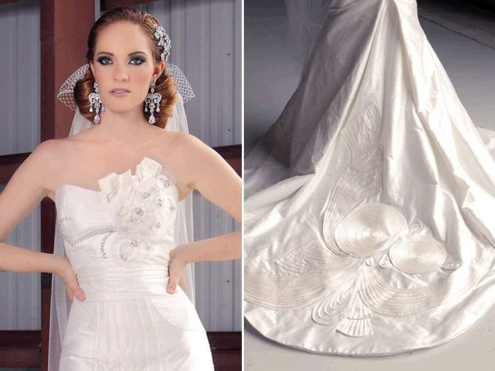 2011 wedding dresses by Jorge Manuel- details and embellishments to die for!
