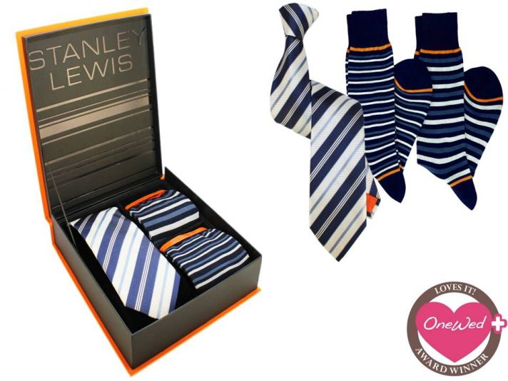 Win luxury Italian-made grooms' accessories from Stanley Lewis this week only!