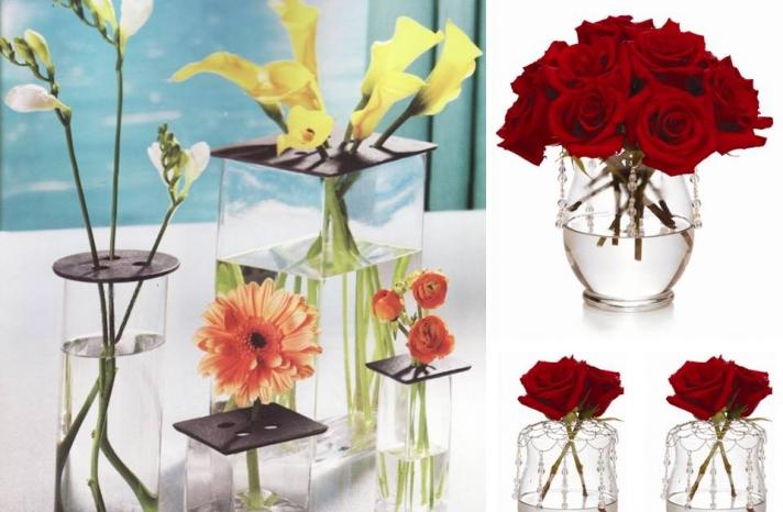 DIY wedding flower centerpieces