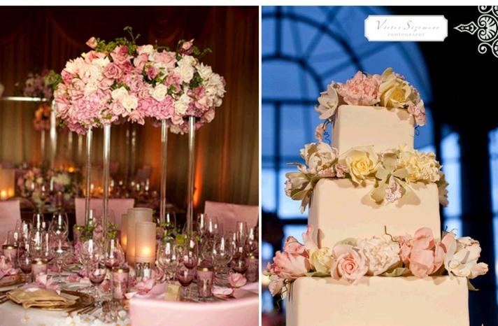 Classic Elegant wedding cakes
