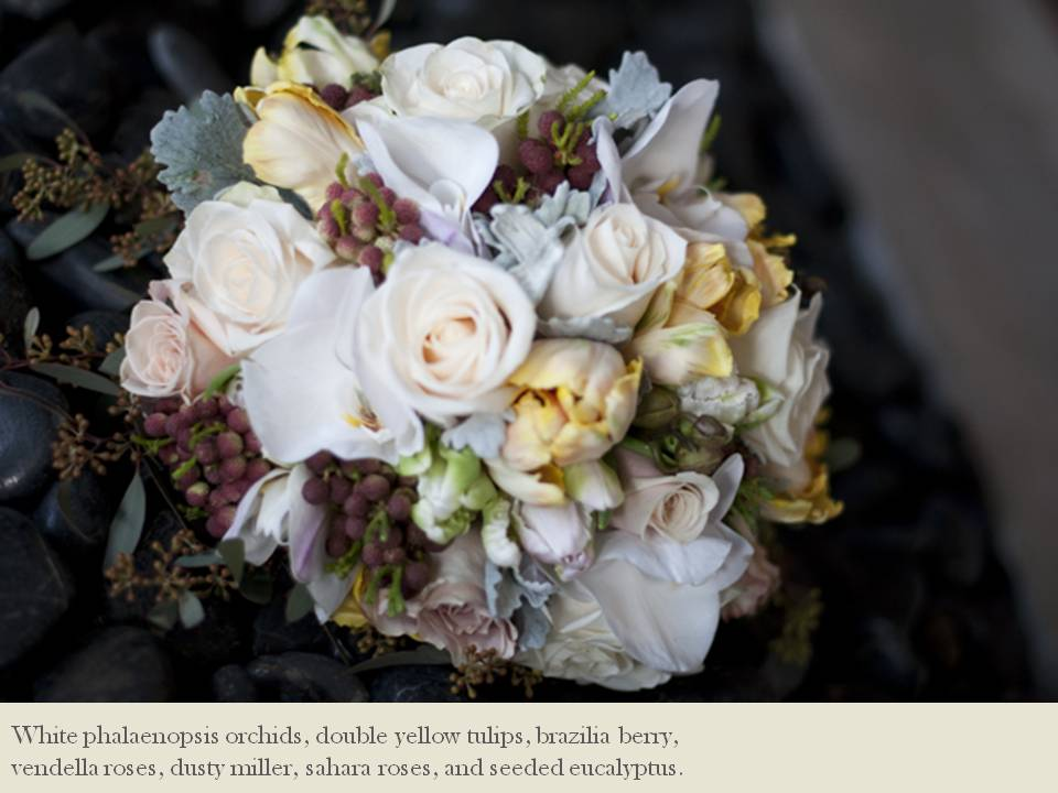 Credit Vintage meets rustic in this winter wedding bridal bouquet by The