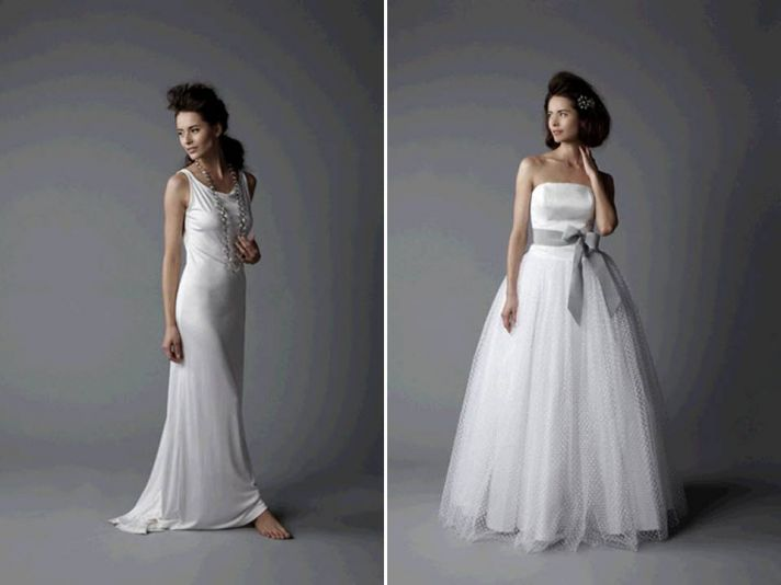 Beaded short wedding reception dresses with dazzling embellishments