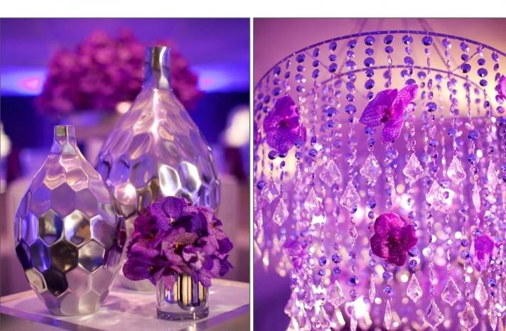 purple-wedding-reception-decor-old-hollywood-glam-chandelier