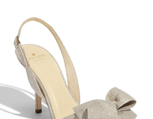 2011-bridal-heels-metallic-wedding-trend-kate-spade-bow-detail-2
