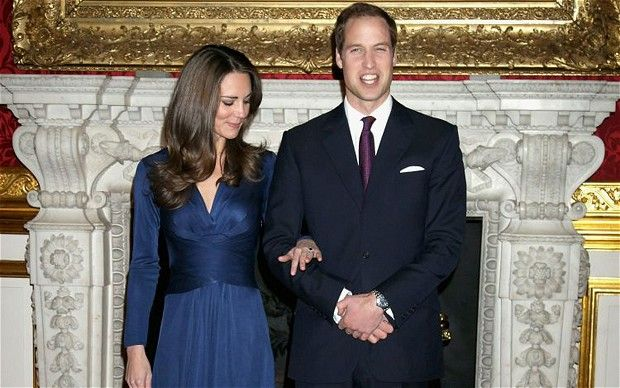 Prince William and Kate Middleton's upcoming royal wedding