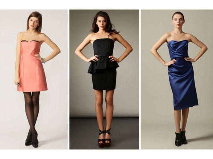 Chic designer bridesmaids' dresses on sale in Gilt's wedding boutique