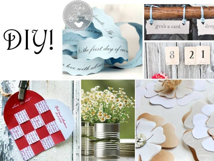10 simple things to DIY for your wedding