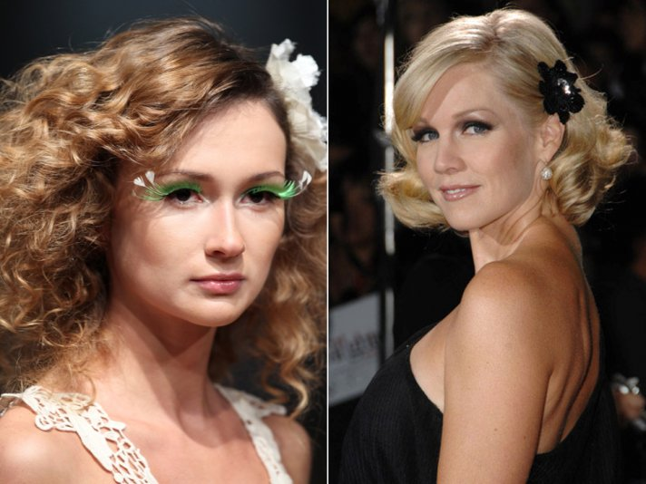 Short bridal bobs are on-trend for summer wedding hair