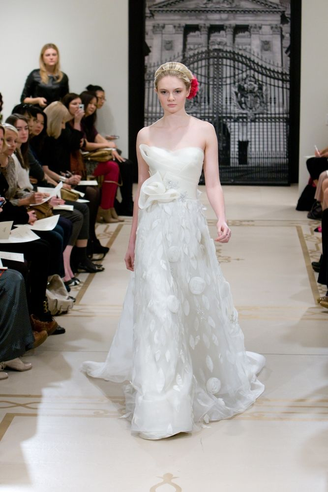 Princess-Worthy Wedding Dresses: Reem Acra, Spring 2012