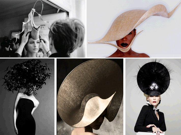 Philip Treacy, royal wedding hat designer, custom designs