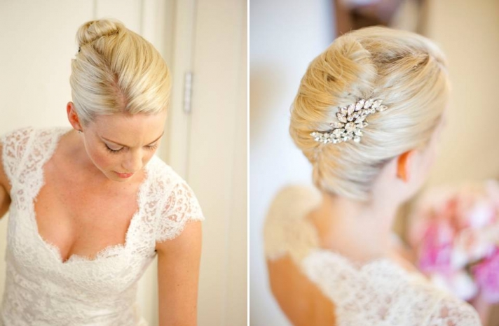 wedding-hairstyles-chic-chignon-bridal-updo-rhinestone-vintage-inspired-hair-brooch-real-weddings-california